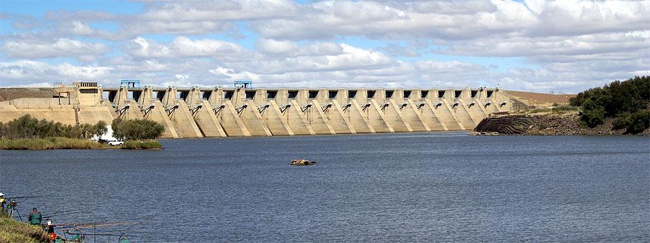 Bloemhof Dam Wall