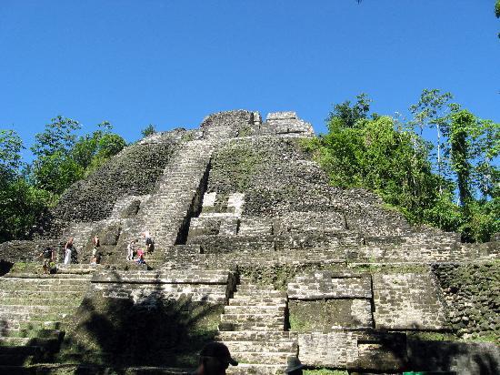 High Temple at Lamanai