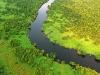 Aerial View Loango National Park Gabon