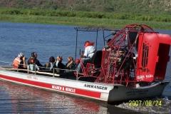 Mara River Airboat Safari   Tanzania