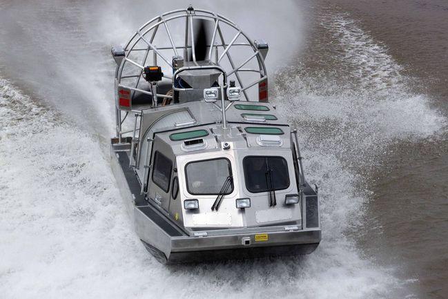 Massport Fire Rescue MMCP airboat