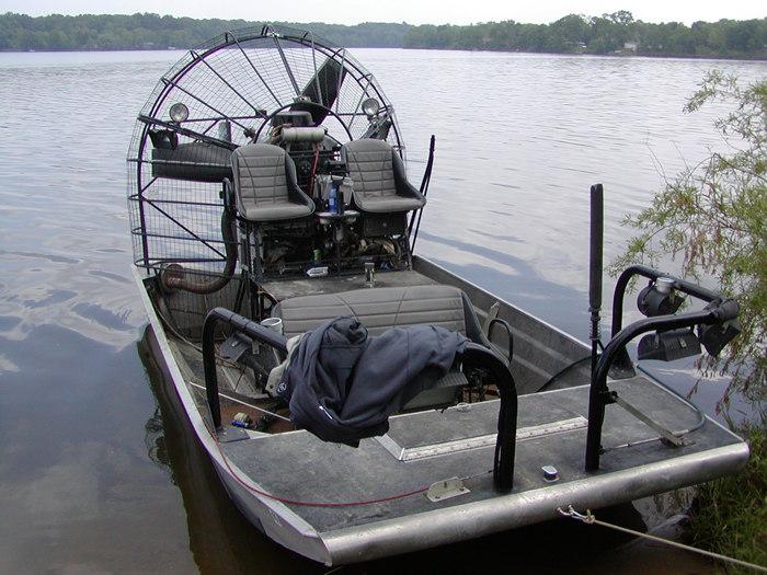 A somewhat simpler setup on Lake Allegan, Michigan