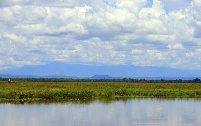 Gorongosa National Park - Mount Gorongosa view