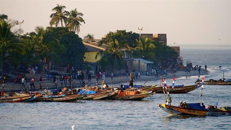 Fishing Fleet in Banjul