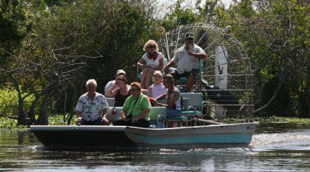 Lake Trafford airboat