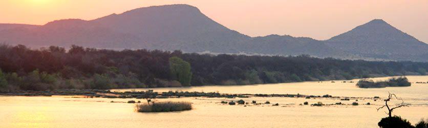 Orange River at Wasschbank Lodge