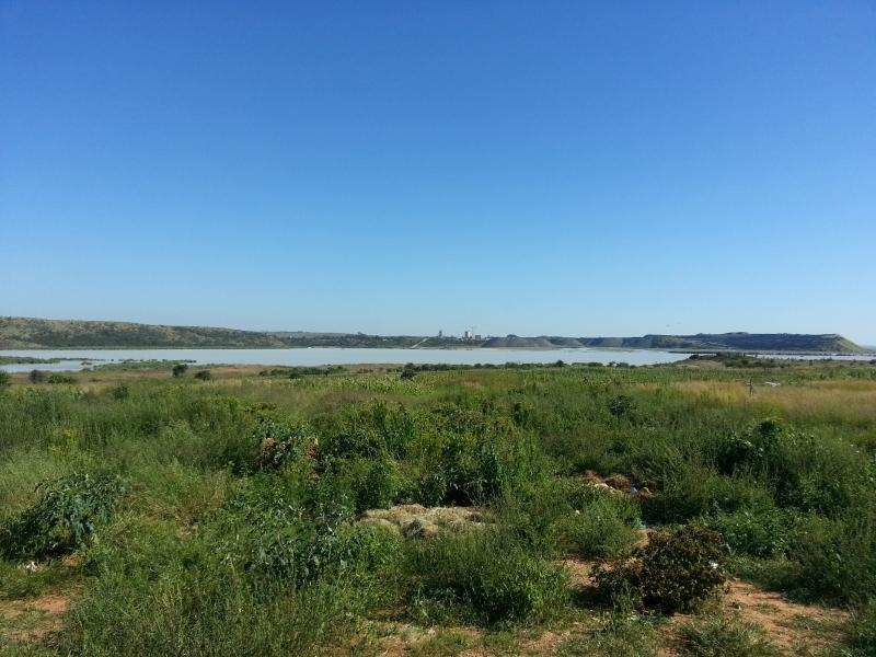 Tailings Dam from Refilwe