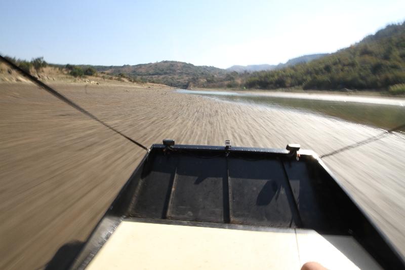 Running Mudflats, Luphohlo Dam, Swaziland