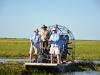 Airboat fishing